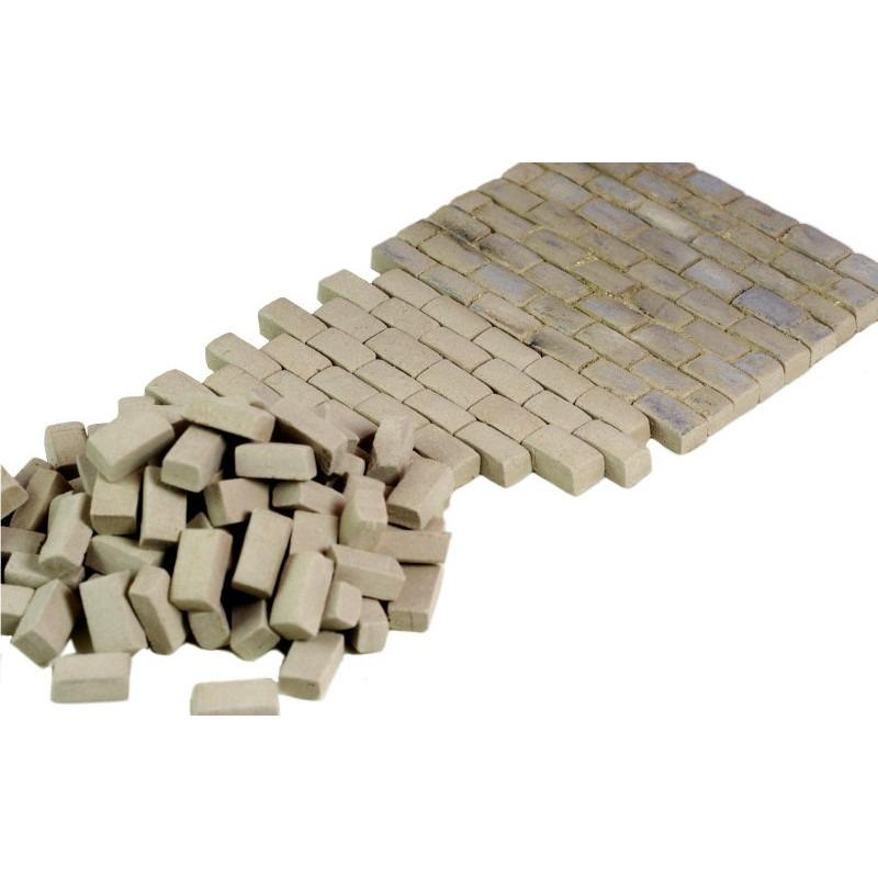 【新製品】MH35093 汎用 ジオラマ素材 石畳 グレー ラージサイズ
