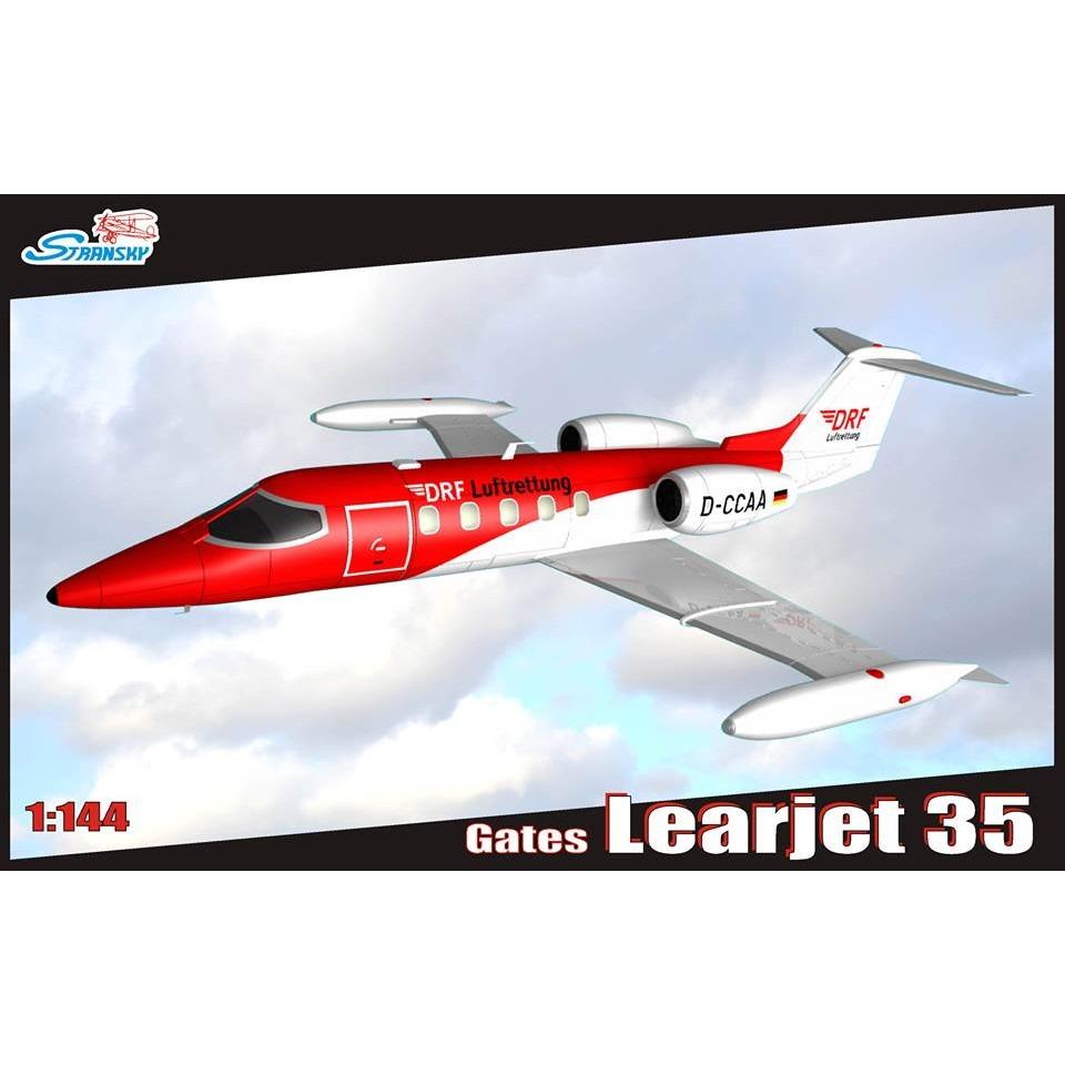 【新製品】STR1401 リアジェット35 民間型