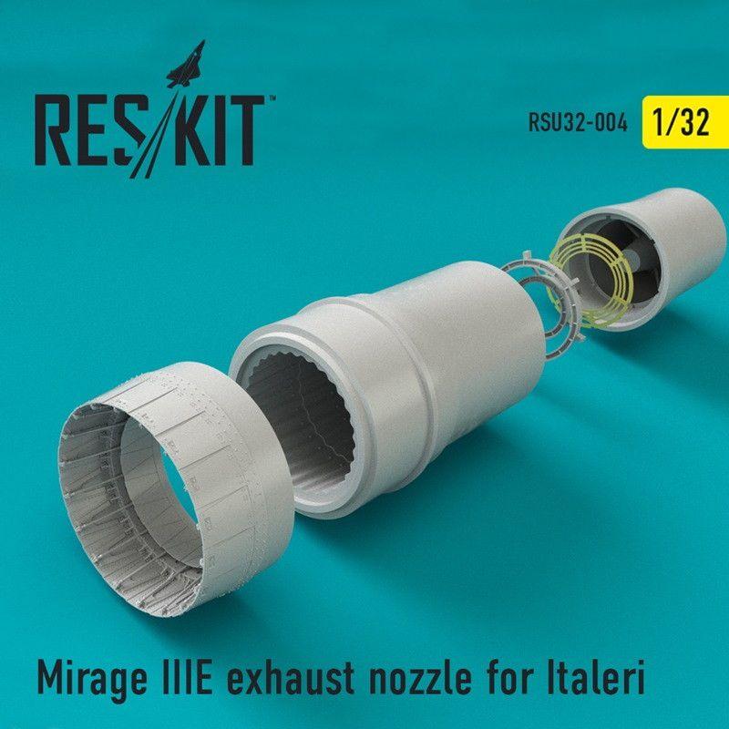 【新製品】RSU32-004 ミラージュIIIE 排気ノズル イタレリ用