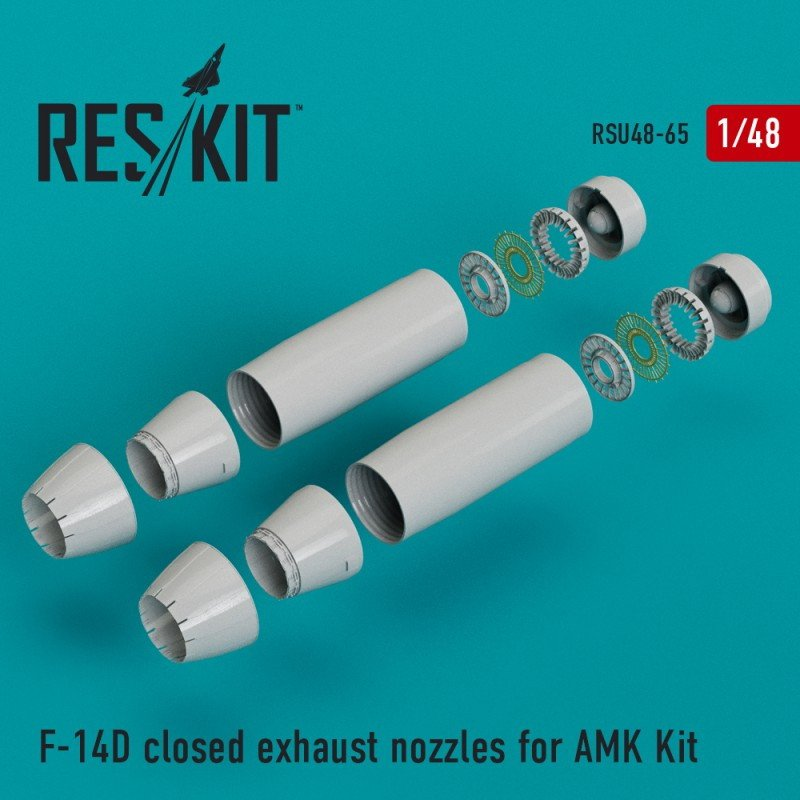 【新製品】U48-0065 F-14D トムキャット アフタバーナー(閉状態) (AMK用)