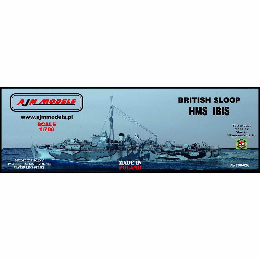 【新製品】700-020 英海軍 ブラックスワン級スループ アイビス Ibis