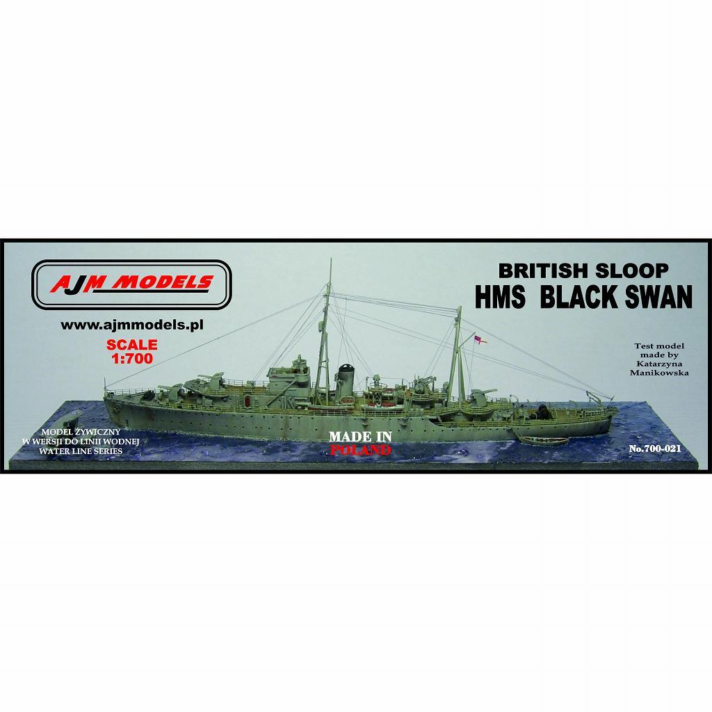 【新製品】700-021 英海軍 ブラックスワン級スループ ブラックスワン Black Swan
