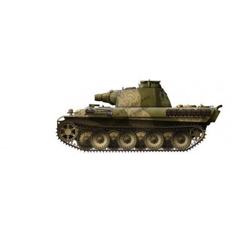 【新製品】MT72001 ドイツ パンター 15cm突撃榴弾砲搭載型 コンバージョンセット