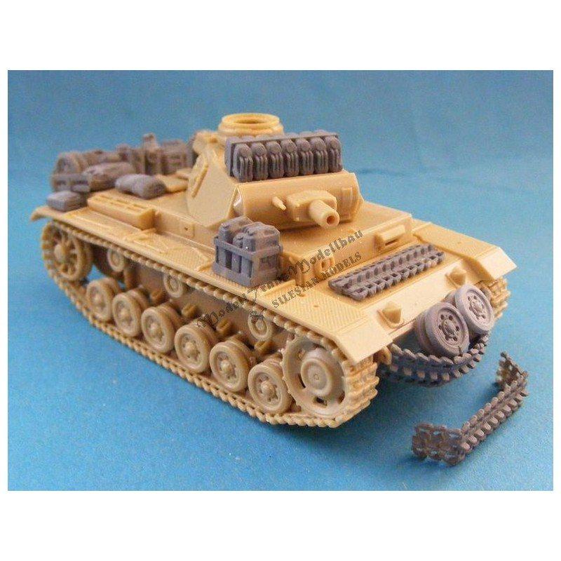 【再入荷】MT72045 III号戦車 積荷セット