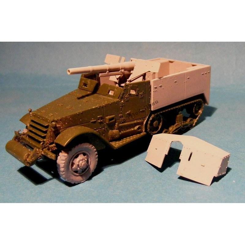 【再入荷】MT72056 M3 75mm GMC ハーフトラック 初期/後期 コンバージョンセット