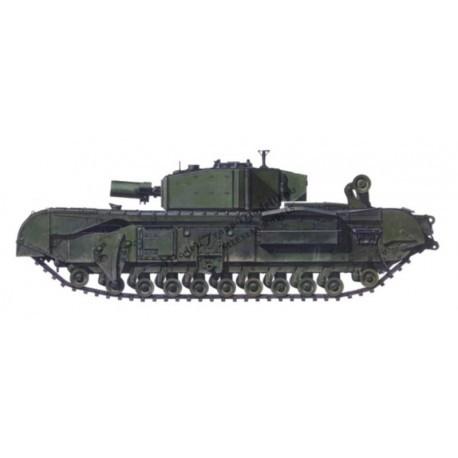 【再入荷】MT72072 チャーチル Mk.III AVRE Mk.II キューポラ コンバージョンセット