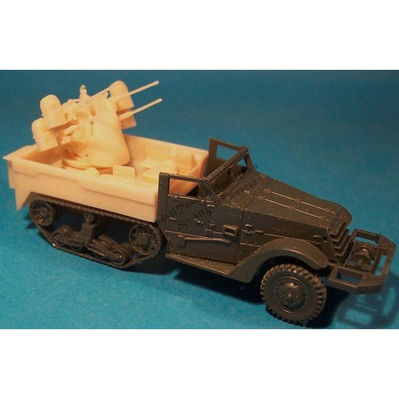 【再入荷】MT72096 M16 ハーフトラック 対空自走砲 コンバージョンセット