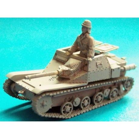 【再入荷】MT72310 イタリア CV38 豆戦車