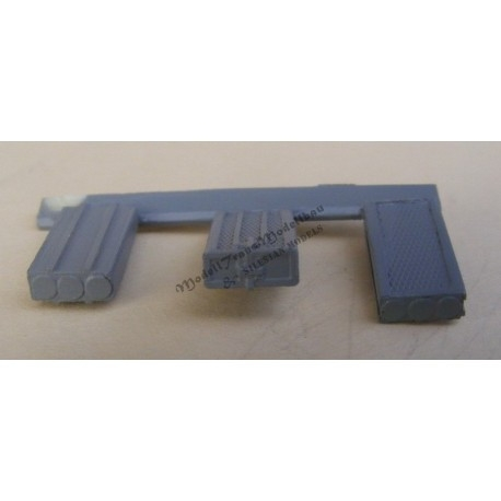 【新製品】MT72366 ドイツ 8.8cm砲 弾薬箱 3種