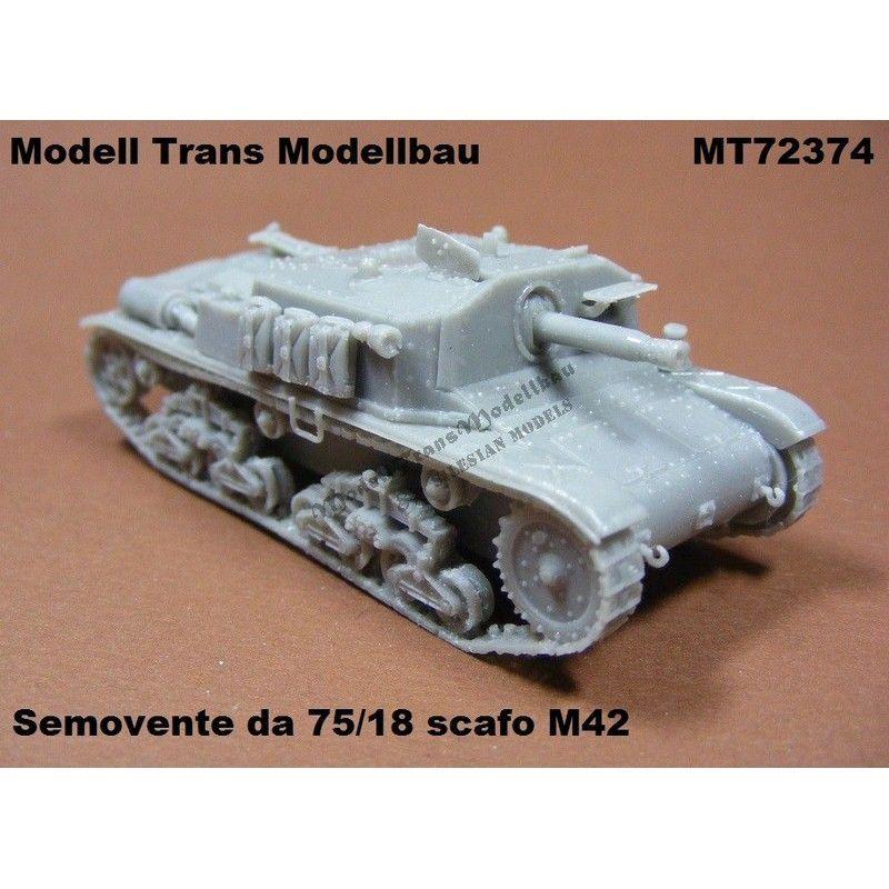 【再入荷】MT72374 セモベンテ 75/18 scafo M42