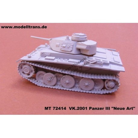 【新製品】MT72414 ドイツ VK.2001(D) 試作III号戦車