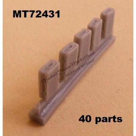 【新製品】MT72431)2cm Flak30/38用弾薬箱