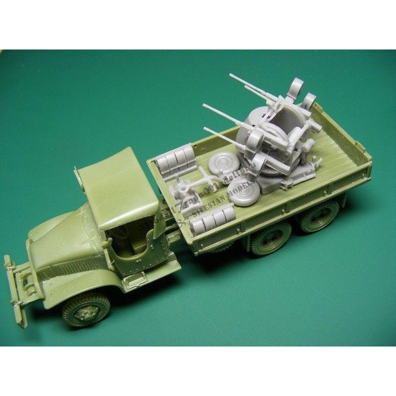 【新製品】MT72433 GMC 353 ガントランク M55 四連装機関銃搭載型 コンバージョンセット