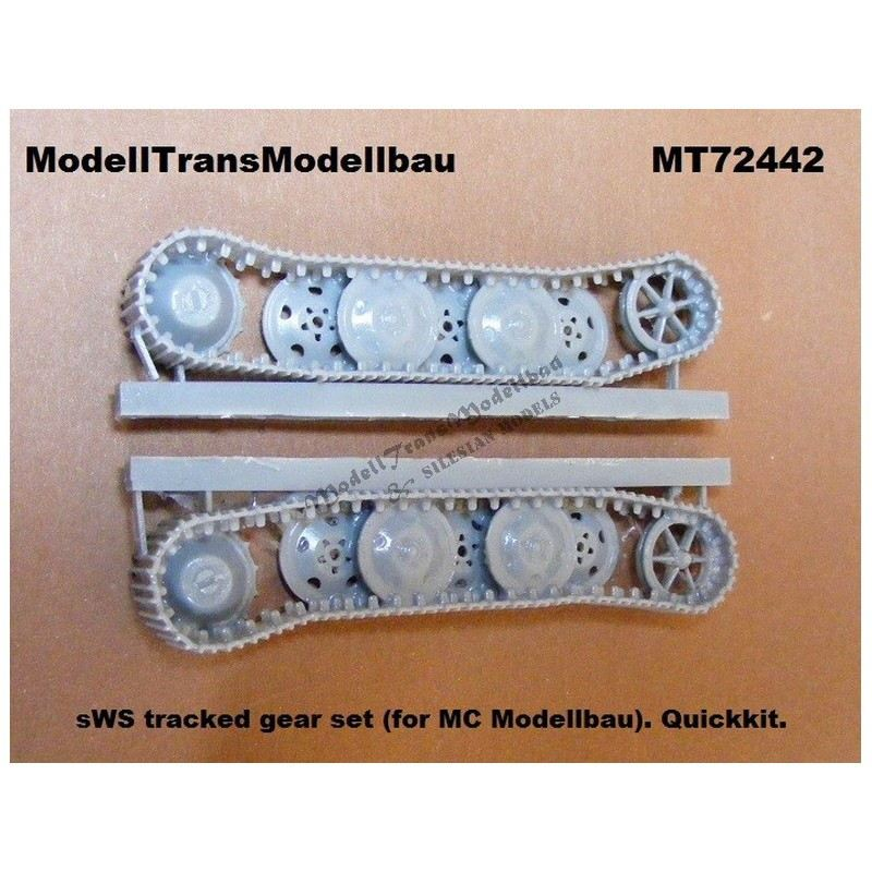 【再入荷】MT72442 ドイツ sWS 履帯&車輪セット