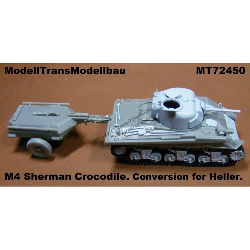 【再入荷】MT72450 アメリカ M4 シャーマン クロコダイル コンバージョンセット