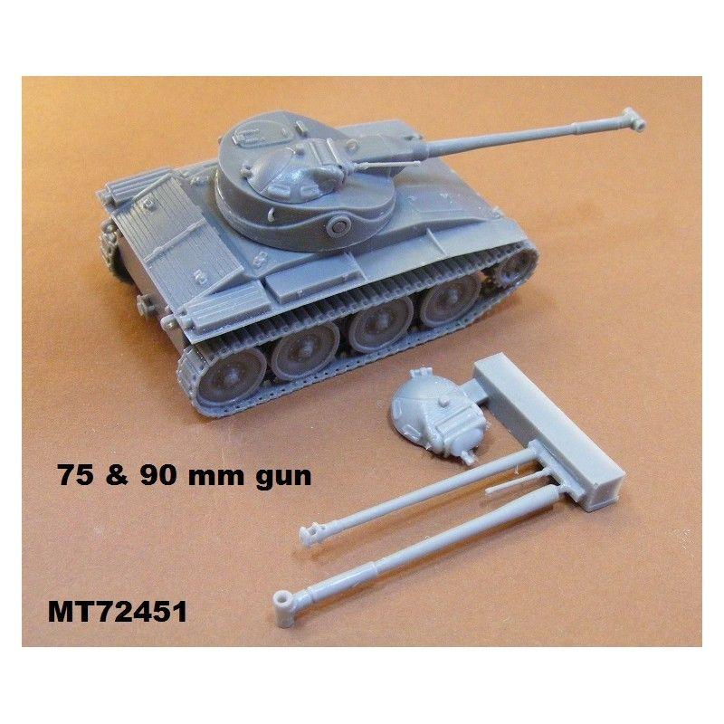 【再入荷】MT72451 アメリカ T71 空挺軽戦車