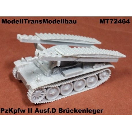 【再入荷】MT72464 ドイツ II号戦車D型 架橋戦車