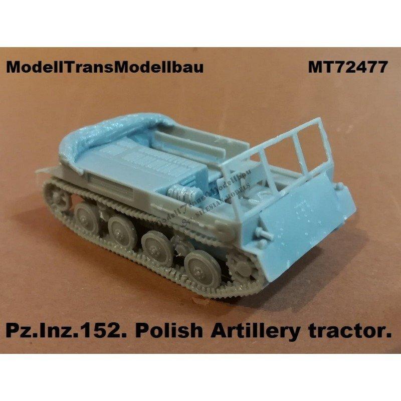 【新製品】MT72477 ポーランド Pz.Inz.152 砲兵トラクター