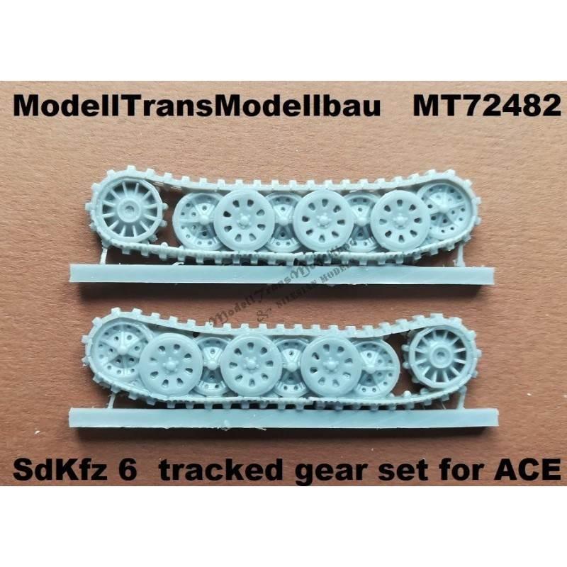 【新製品】MT72482 Sd.Kfz.6 5tハーフトラック用履帯&転輪セット