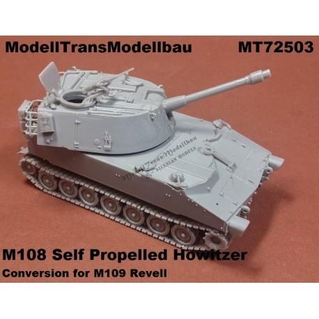 【再入荷】MT72503 M108 105mm自走榴弾砲 コンバージョンセット