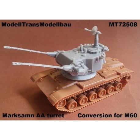 【新製品】MT72508 M60 マークスマン 対空砲塔コンバージョンセット