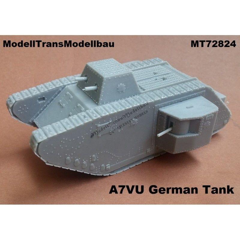 【新製品】MT72824 ドイツ A7VU 戦車