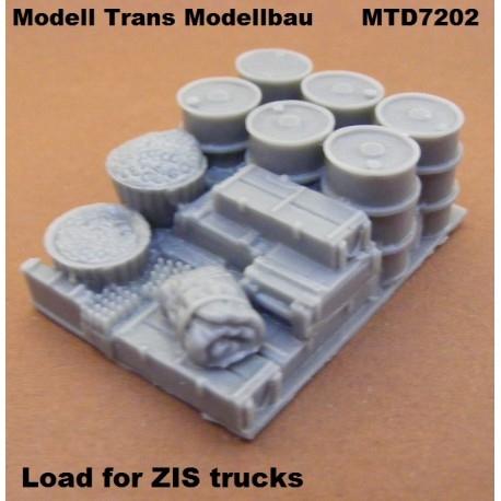 【再入荷】MTD7202 ZISトラック 積荷