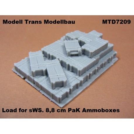 【再入荷】MTD7209 sWS 積荷 8.8cm対戦車砲 弾薬箱