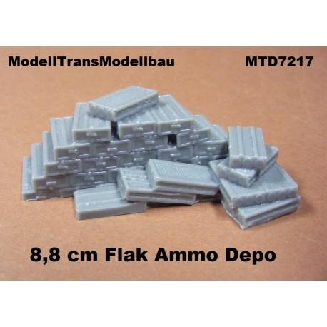 【再入荷】MTD7217 8.8cm対戦車砲 弾薬箱