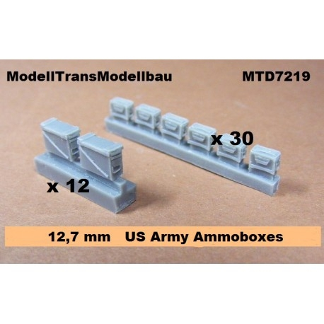 【再入荷】MTD7219 アメリカ 12.7mm 弾薬箱