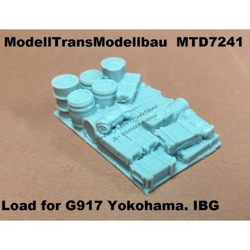【新製品】MTD7241 日本 フォード G917t 1938年式 3トントラック 横浜工場生産型 積荷