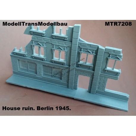 【再入荷】MTR7209 破壊された家 ベルリン 1945