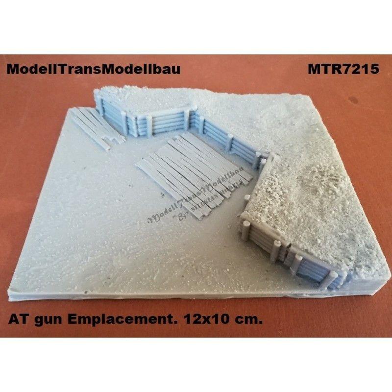 【新製品】MTR7215 対戦車砲 砲座