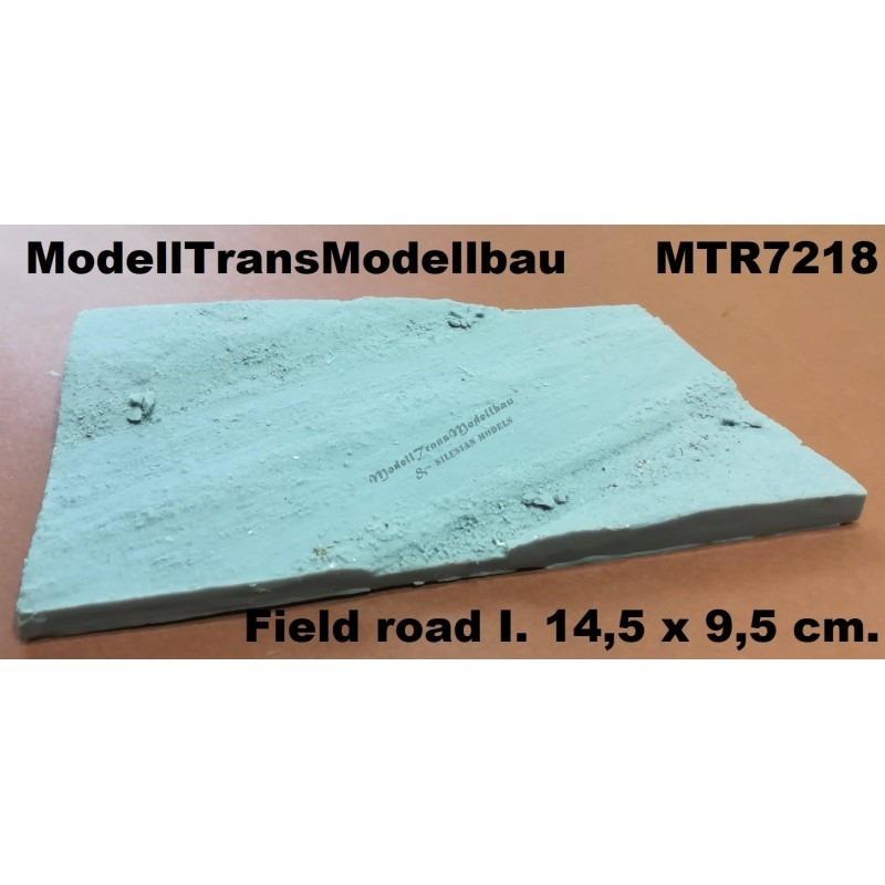 【新製品】MTR7218 未舗装の道路
