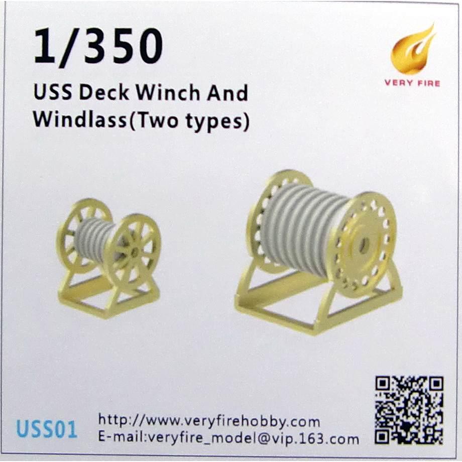 【新製品】USS01 米海軍 艦艇用 ウインチ