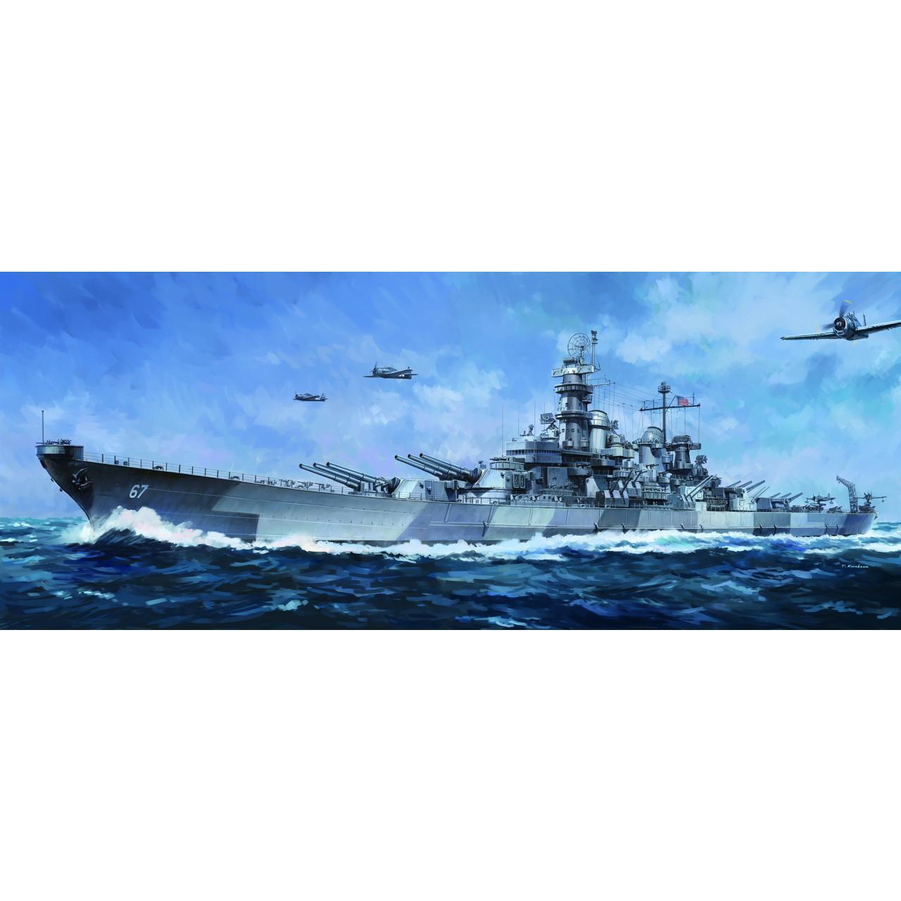 【新製品】VFM350913 米国海軍 モンタナ級戦艦 BB-67 モンタナ Montana