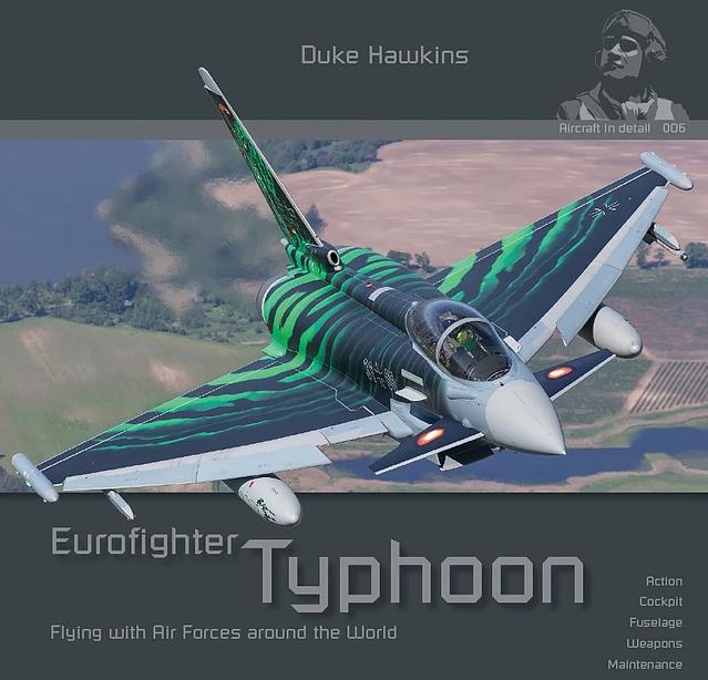 【新製品】エアクラフト・イン・ディテール 006 ユーロファイター タイフーン 運用各国空軍