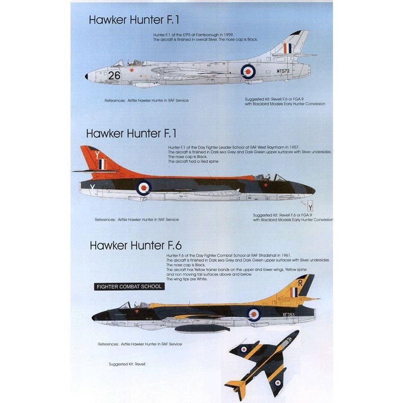 【再入荷】BMD72038 イギリス空軍 ホーカー ハンター Pt.1
