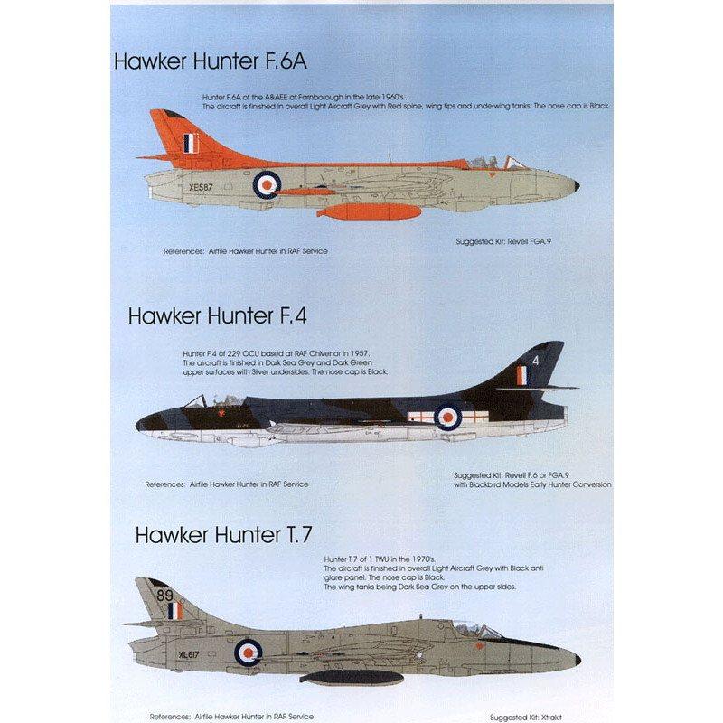 【再入荷】BMD72039 イギリス空軍 ホーカー ハンター Pt.2