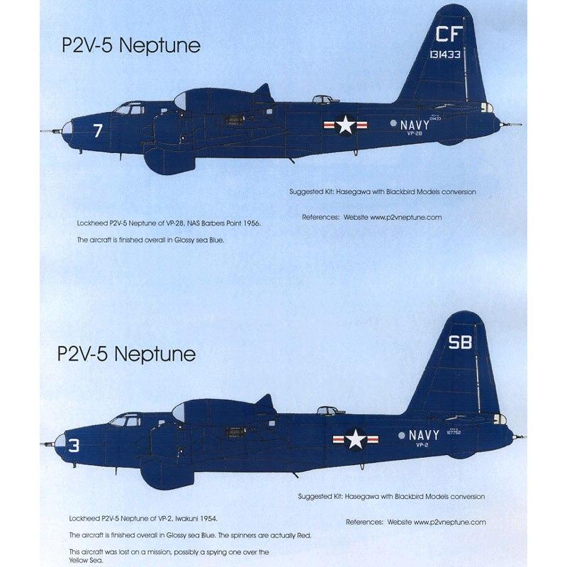【再入荷】BMD72041 アメリカ海軍 P2V-5 ネプチューン