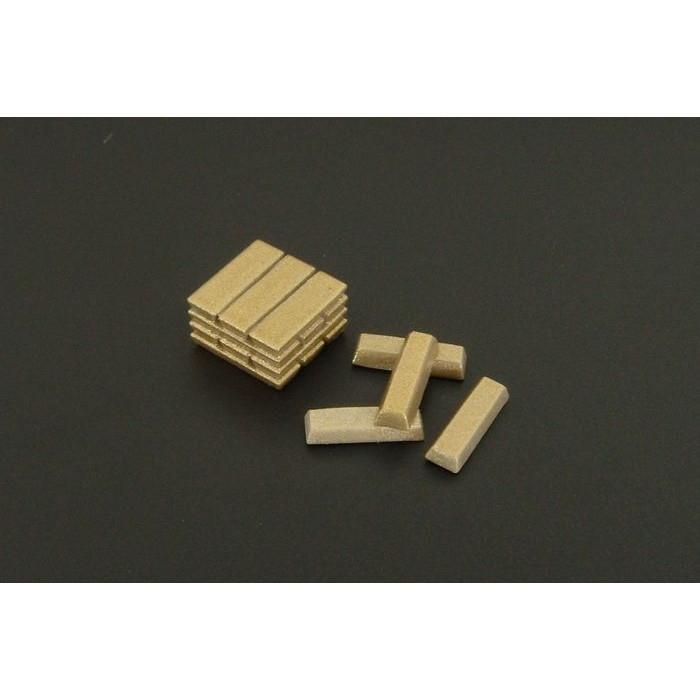 【新製品】HLU35110 金の延べ棒