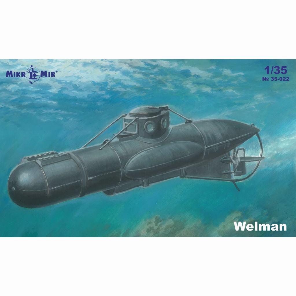 【新製品】35-022 ウェルマン W10 特殊潜航艇