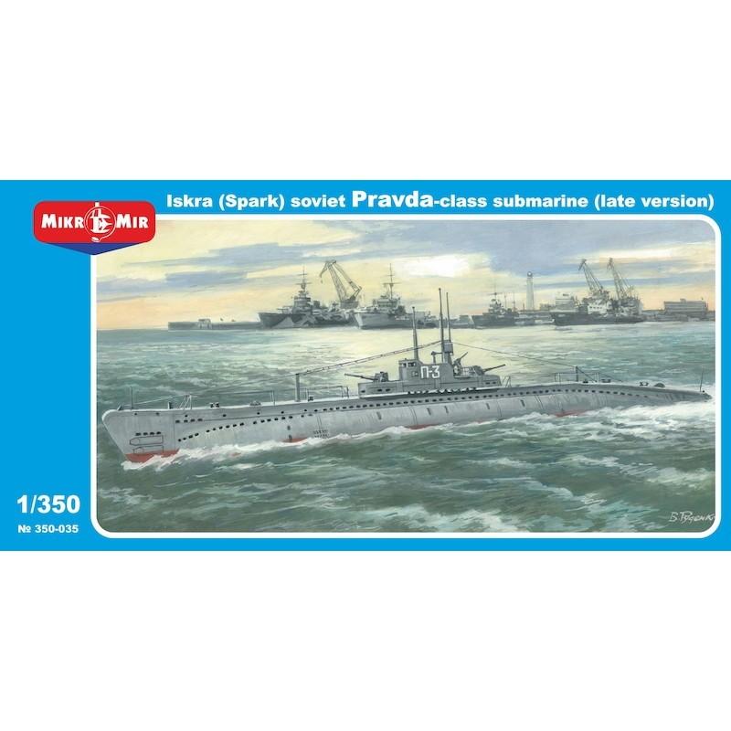 【新製品】350-035 ソビエト P型潜水艦(プラウダ級潜水艦) イスクラ 後期型