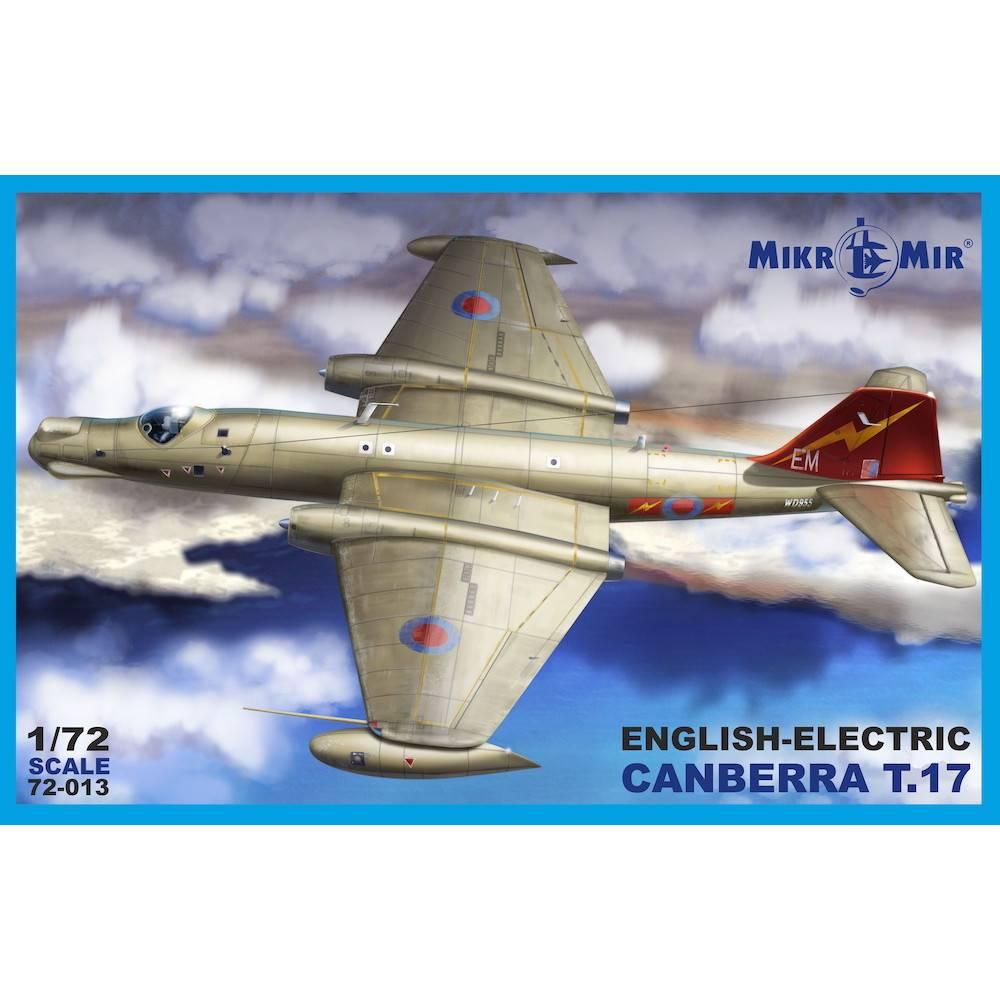 【新製品】72-013 イングリッシュ・エレクトリック キャンベラ T.17
