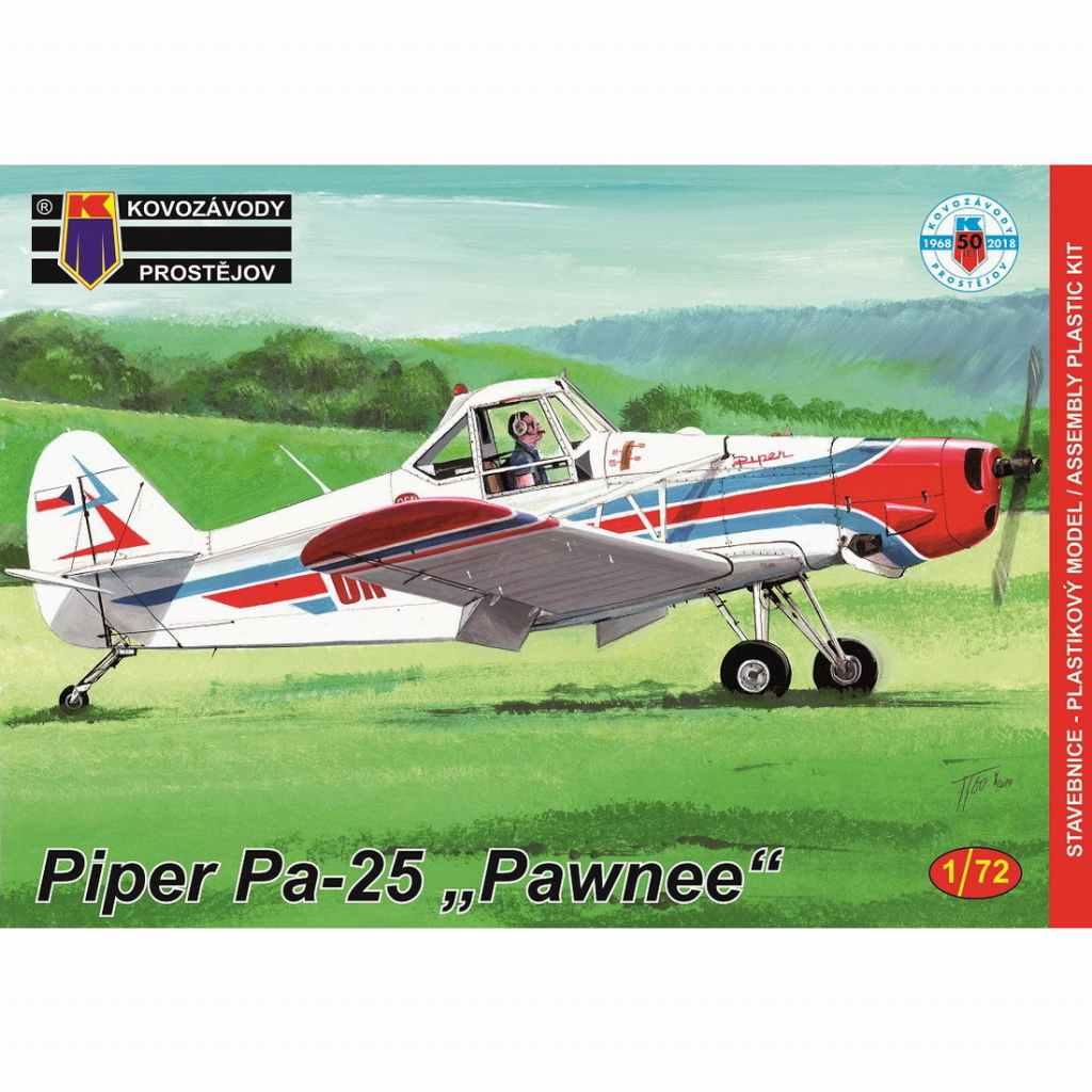 【新製品】KPM0123 パイパー Pa-25 ポーニー 農業機