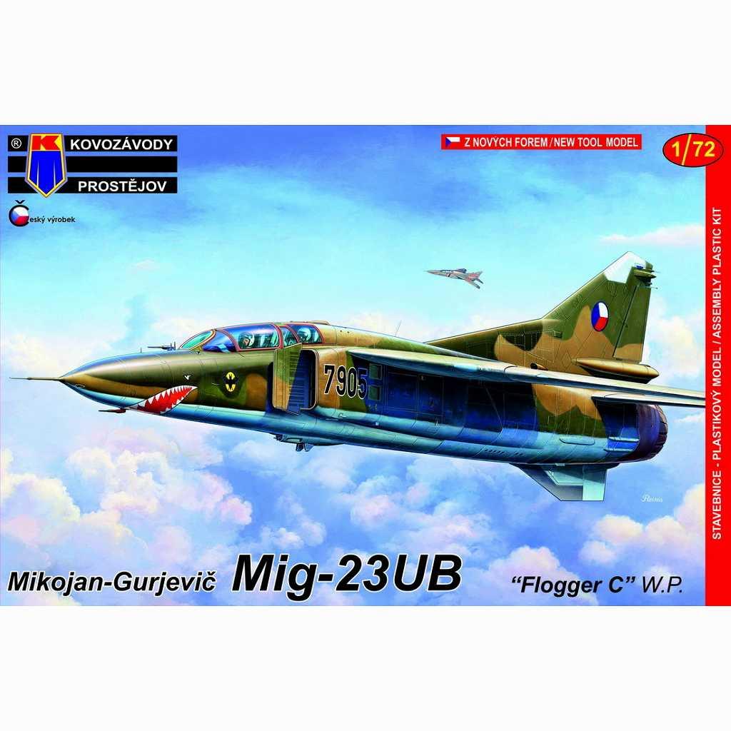 【新製品】KPM0140 MiG-23UB フロッガーC「ワルシャワ条約機構加盟国」