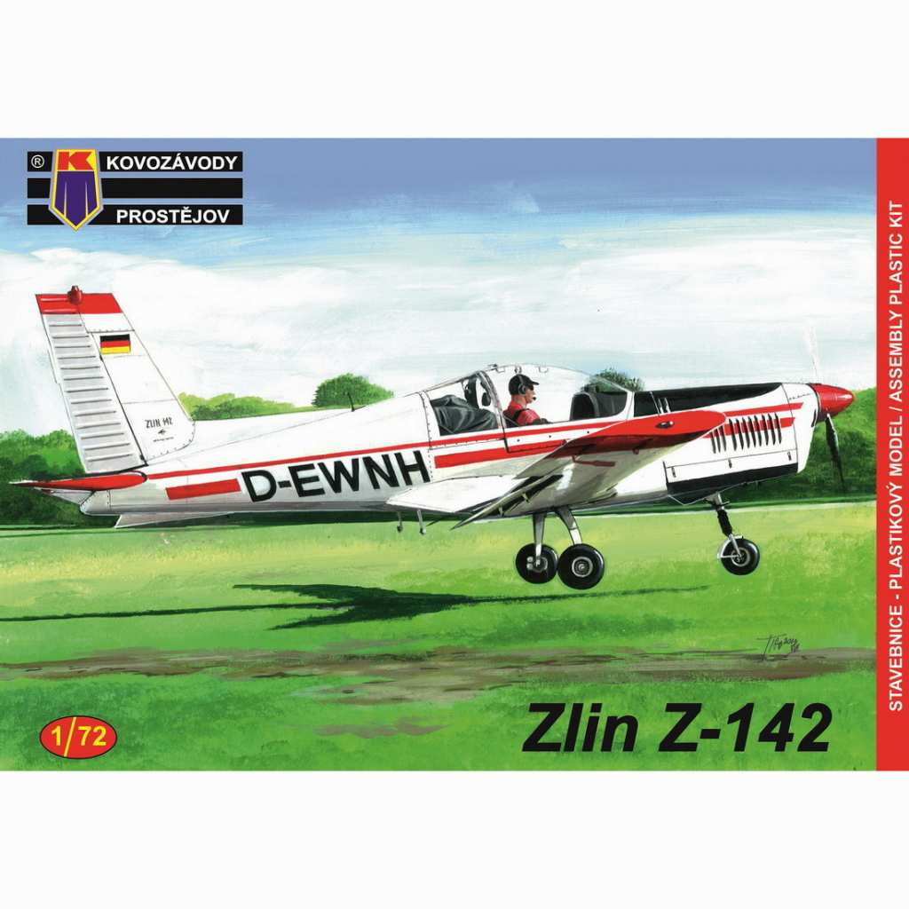 【新製品】KPM0142 ズリン Z-142 民間機