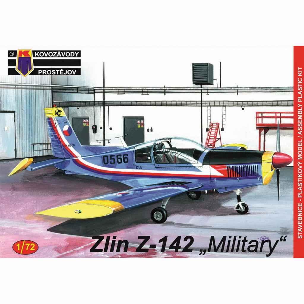 【新製品】KPM0143 ズリン Z-142 軍用機