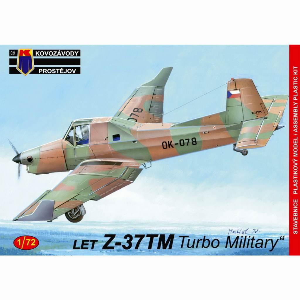 【新製品】KPM0146 LET Z-37TM 軍用機型