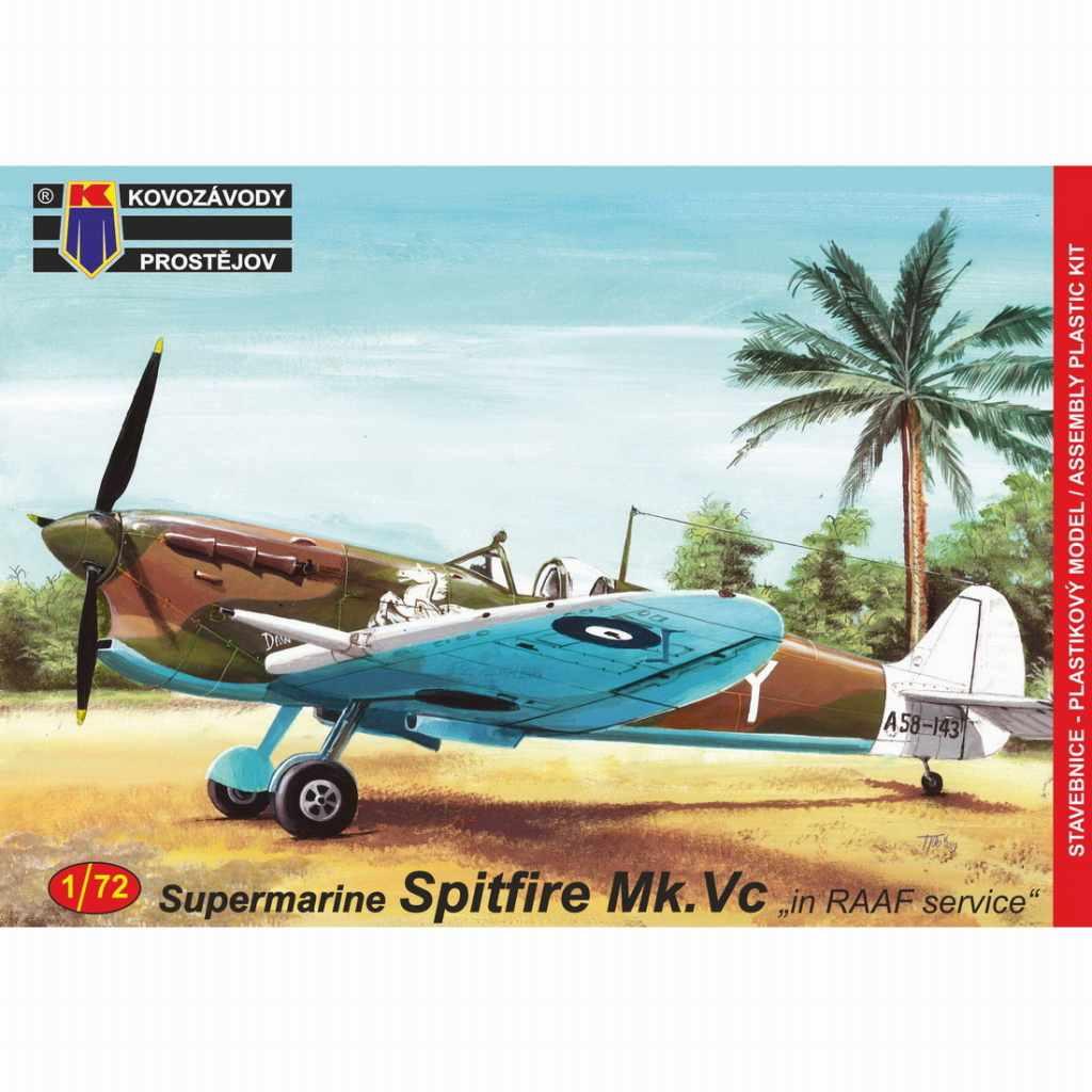 【新製品】KPM0147 スーパーマリン スピットファイア Mk.Vc 「オーストラリア空軍」